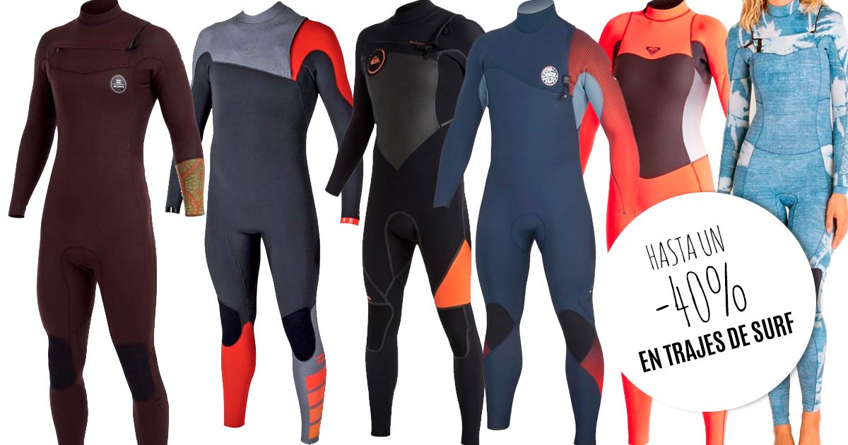 Outlet trajes de surf