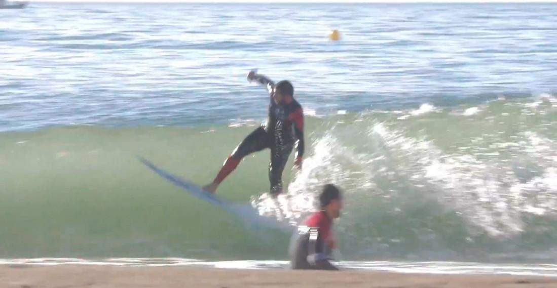 Test tabla de surf modelo dumper por Yoni Cadenas